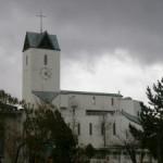 教会の外からの写真
